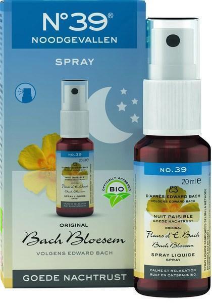Noodgevallen spray nacht (20ml)