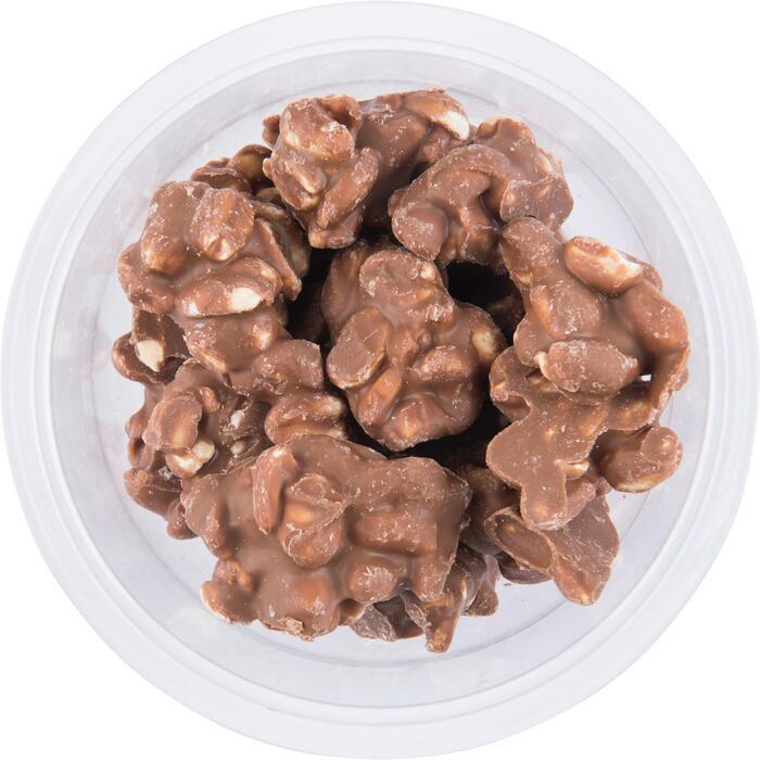Chocolade pindarotsjes melk (190g)