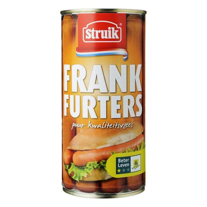 Frankfurters (stuks) (10 × 560g)