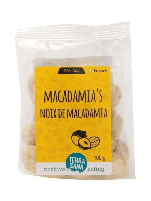 RAW Macadamianoten TerraSana 100g (100g)