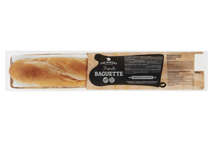 The Bakery French Baguette 220 g (220g)