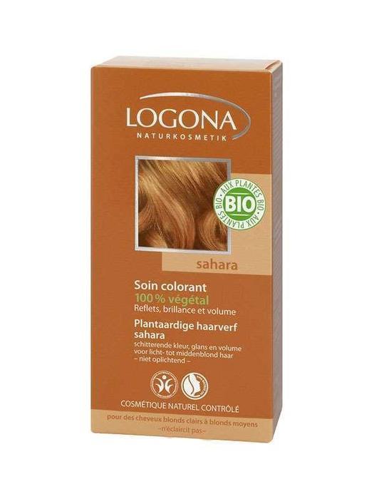 Haarkleuring 020 Sahara Logona 100g (100g)