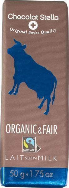 Chocolat Stella, Organic & Fair Milk (50g)