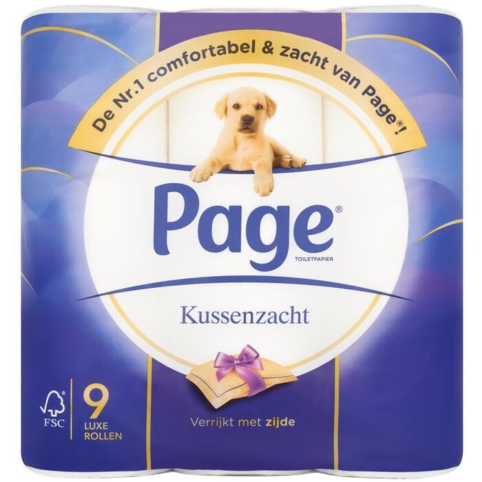 Page Toiletpapier Kussenzacht 9 Luxe Rollen