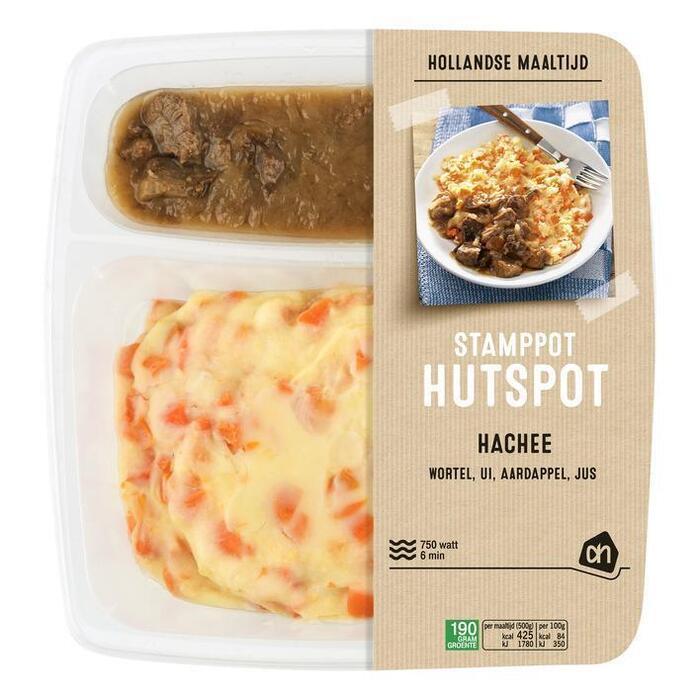 Hollandse stamppot hutspot met hachee (500g)