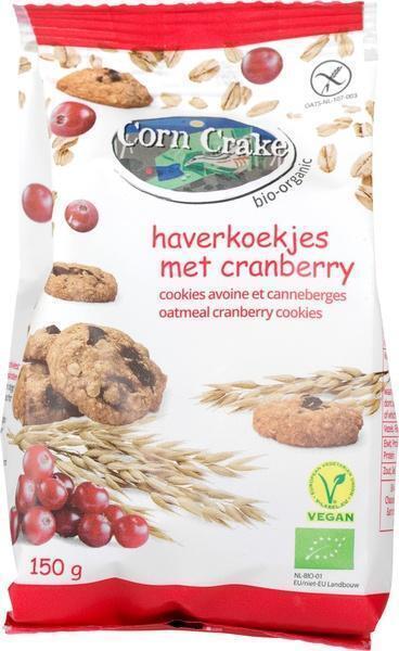 Haverkoekjes met Cranberry (150g)