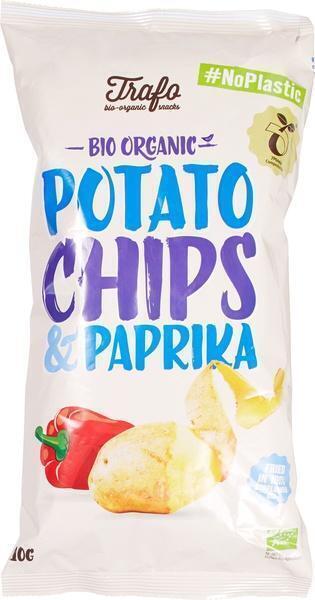 Aardappelchips paprika (110g)