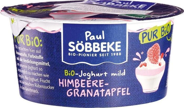 Pur framboos/granaatappel yoghurt (150g)
