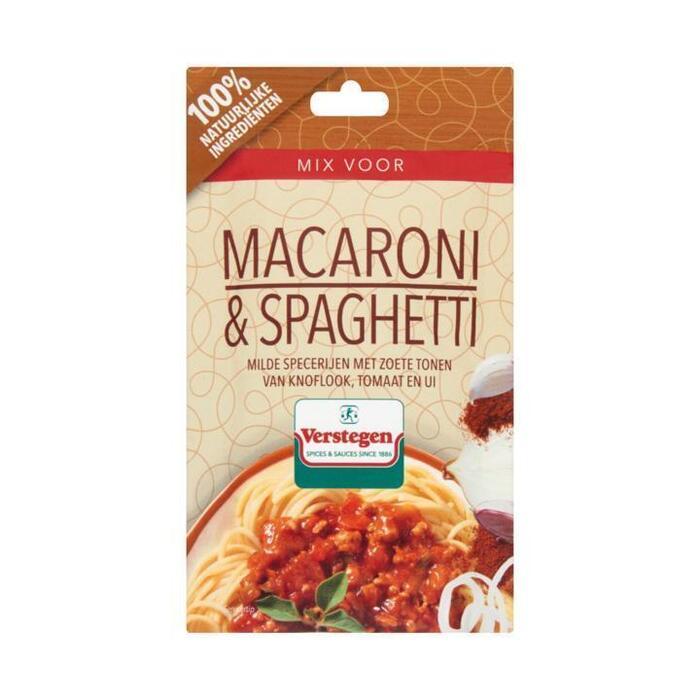Verstegen Mix voor Macaroni & Spaghetti 35 g (35g)