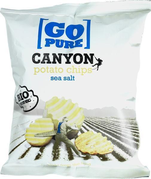 Canyon chips sea salt (125g)