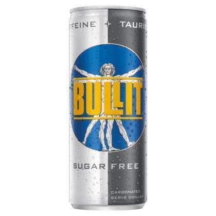 Bullit Energy Drink Sugar Free (rol, 25 × 250ml)