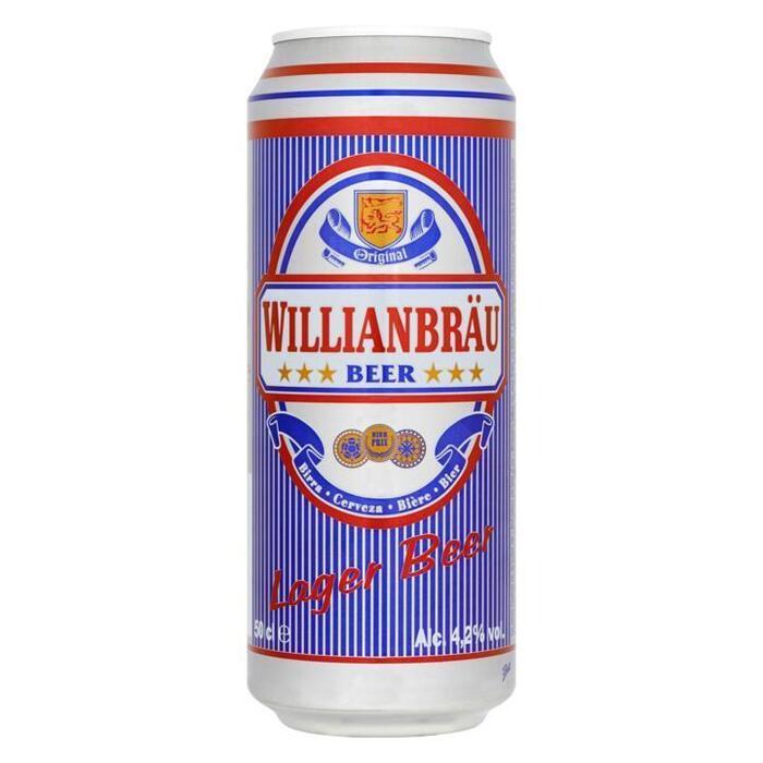 Willianbräu Lager Beer (rol, 50 × 0.5L)