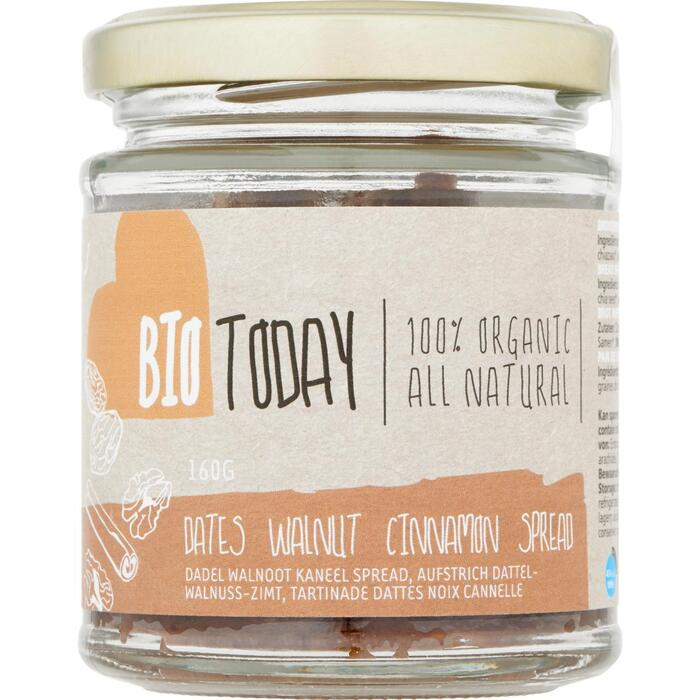 Bio Today Spread dadel & walnoot (160g)