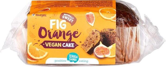 VEGAN Cake vijgen & sinaasappel TerraSana 350g (350g)