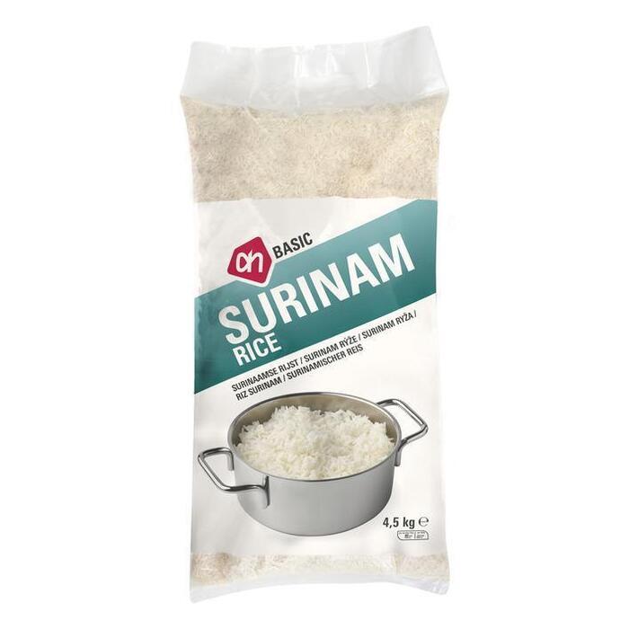 Surinaamse rijst lange korrel (4.5kg)