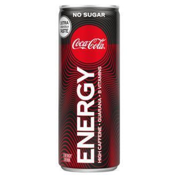 Coca-Cola Energy no sugar (250ml)