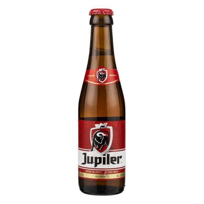 Jupiler Blond Bier (glas, 6 × 250ml)