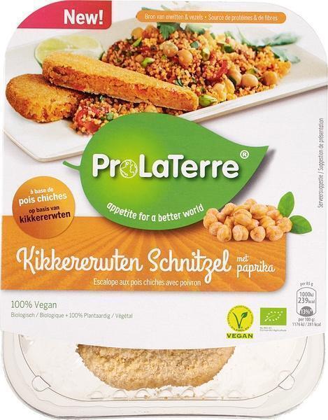 Kikkererwten schnitzel (170g)