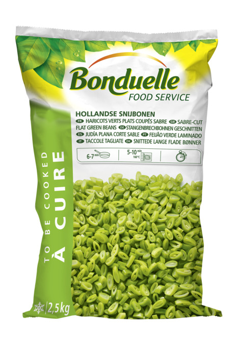 BONDUELLE HOLLANDSE SNIJBONEN (2.5kg)
