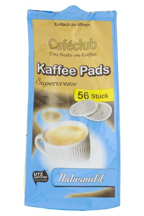 Cafeclub Supercreme Vorteilsack koffiepads mild 56 st (56 × 389g)