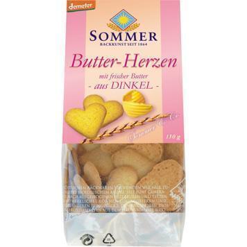 Spelt boterhartjes (150g)