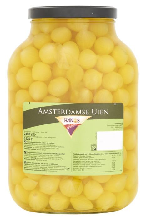 Hanos Selektie Amsterdamse Uien 2450 g (2.45kg)