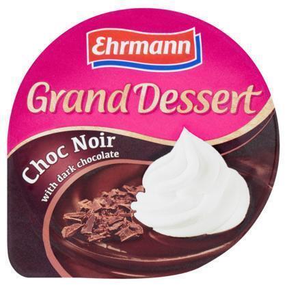 Ehrmann Grand dessert choc noir (190g)