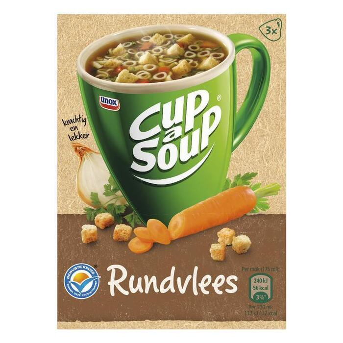 Cup-A- Soup Rundvlees (3 × 14g)