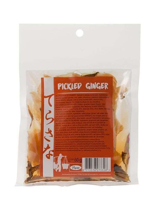 Pickled ginger TerraSana 60g (60g)