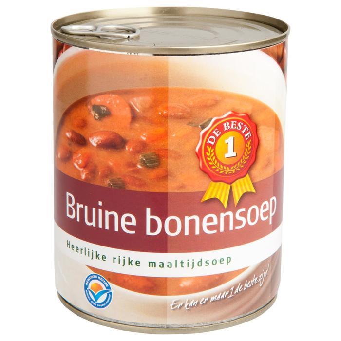 Bruine bonensoep (0.8L)