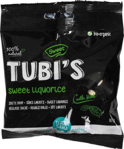 Tubi's Mint - Zoete drop TerraSana 80g (80g)