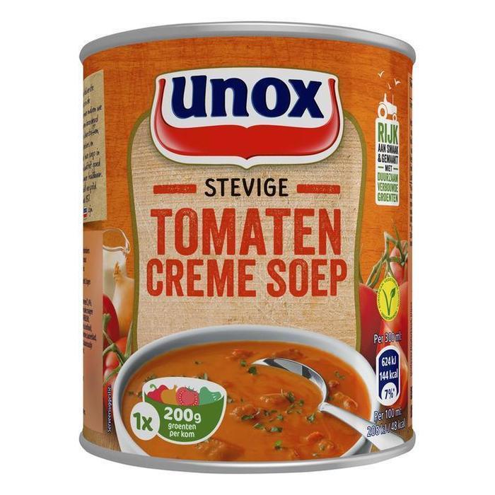 Unox Soep in blik stevige tomaten-cremesoep (rol, 30 × 30cl)