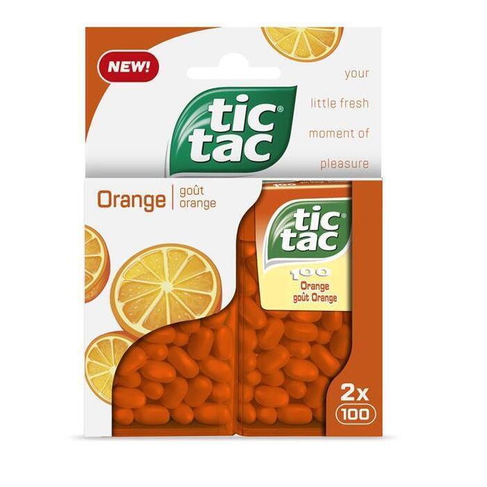 Tic Tac Duo pack orange (2 × 49g)
