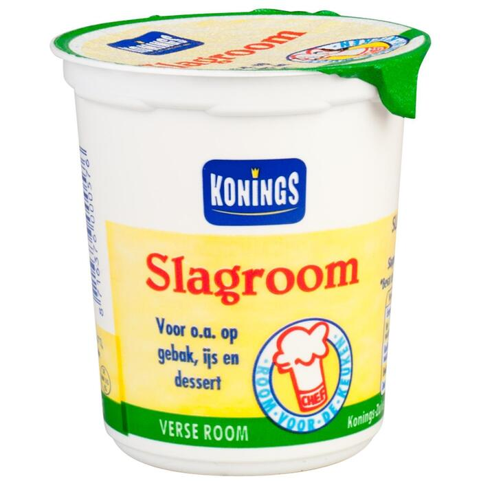 Konings Slagroom 200 ml (Stuk, 200ml)