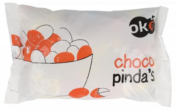 Oke Choco pinda's (250g)
