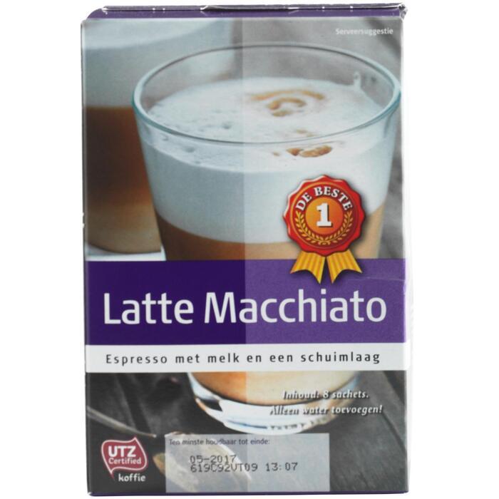 Latte macchiato 8 zakjes (144g)