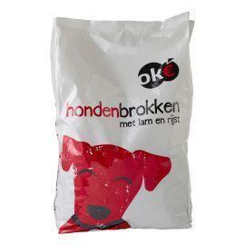 OK€ Hondenbrokken Lam-Rijst 4 Kg. (4kg)