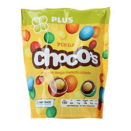 Pinda Choco's (zak, 250g)