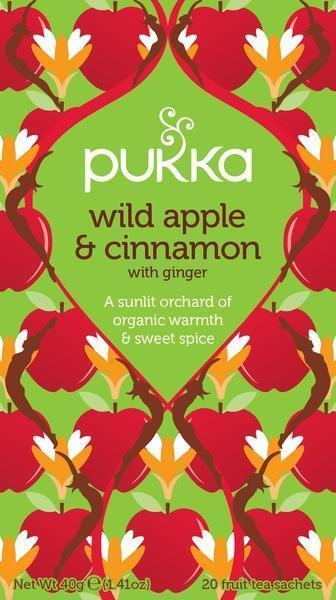 Wild apple & cinnamon thee (builtje, 20 × 2g)