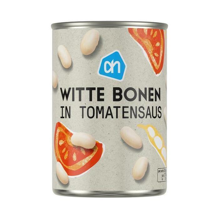 AH Witte bonen in tomatensaus (400g)
