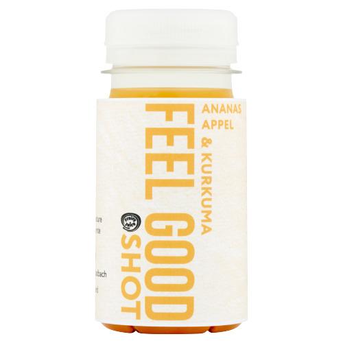 Fruity Juice Feel Good Shot Ananas Appel & Kurkuma 100 ml (100ml)