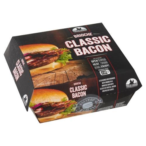 Flemmings Brioche classic bacon (230g)