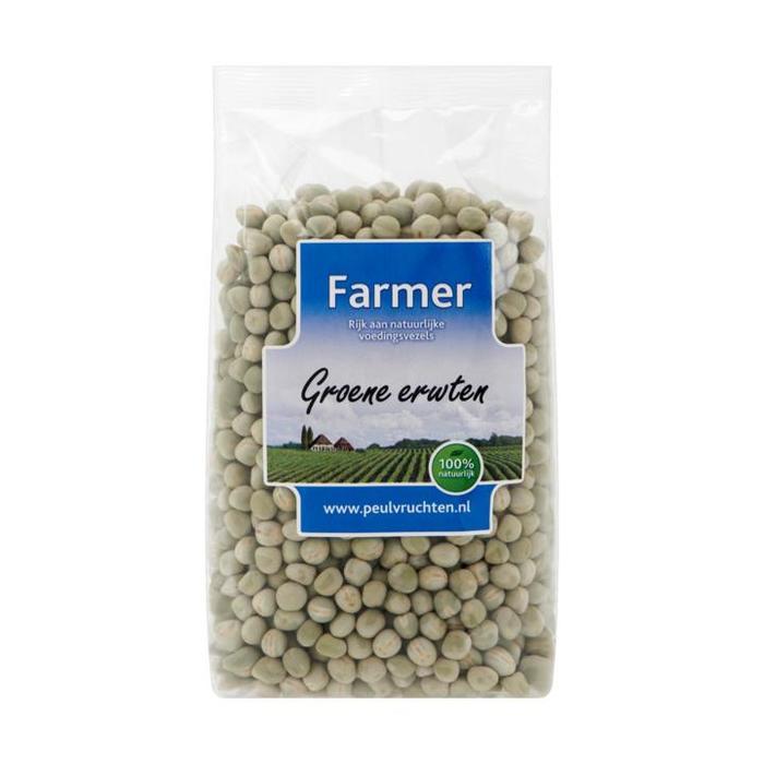 Groene erwten (zak, 500g)