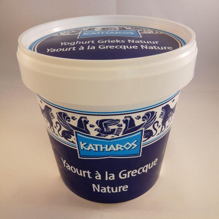 Yoghurt Naturel Griekse Stijl (emmer, 1kg)
