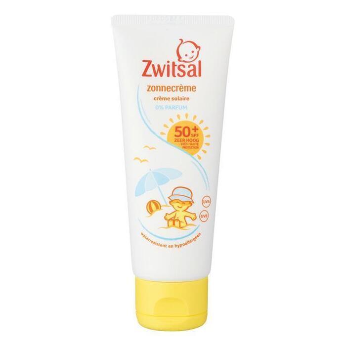 Zwitsal Spf 50+ 0% parfum zonnecreme (75ml)