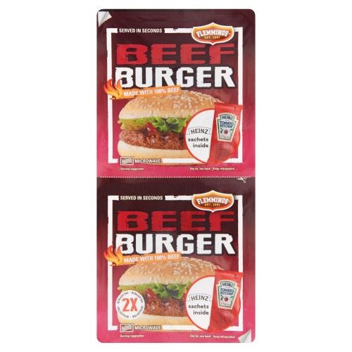 Beefburger duo pack (2 × 236g)