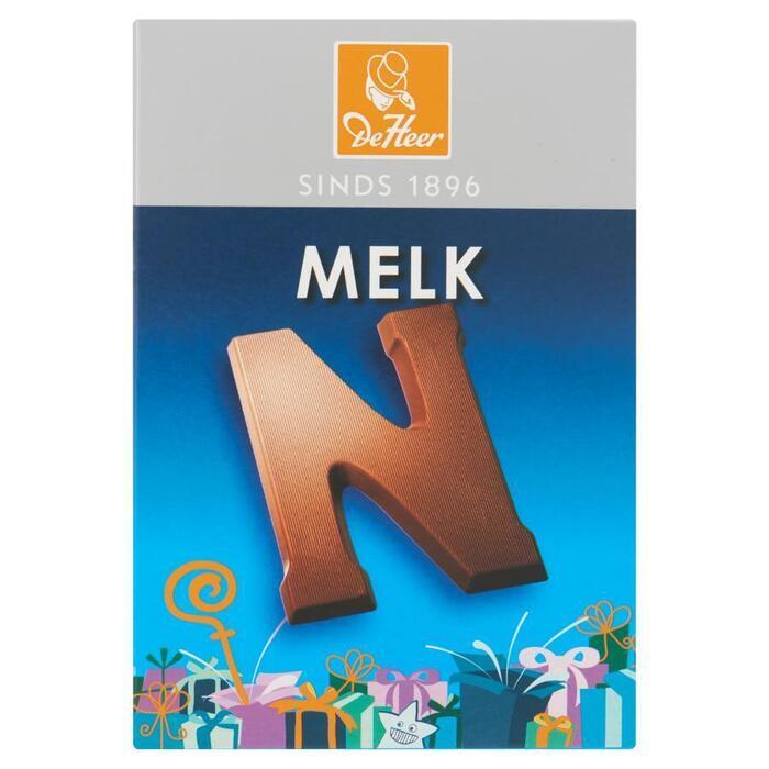 Chocoladeletter melk (65g)