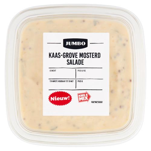Jumbo Kaas-Grove Mosterd Salade 150 g (150g)