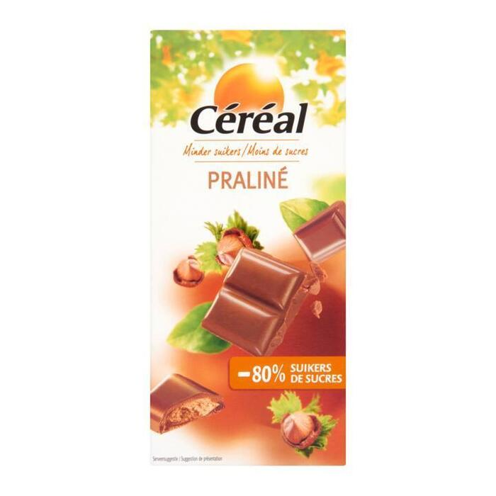 Praliné - 80% suikers (reep, 100g)