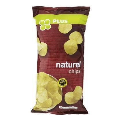 PLUS Chips flat naturel (225g)